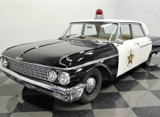 Mayberry PD replica '62 Galaxie ready for your inner Deputy Fife