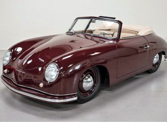 Early Porsche 356 cabriolet in immaculate restored condition