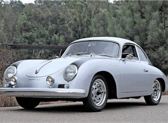 Rare, desirable 1957 Porsche 356 Carrera coupe with 4-cam power