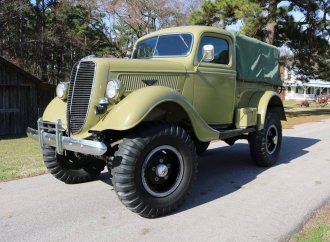 'Little Big Foot' was early 4×4 prototype