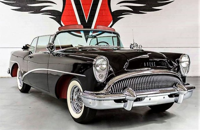 Show-car styled 1954 Buick Skylark convertible