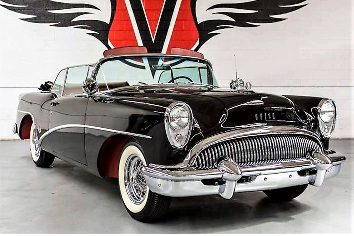 Show-car styled 1954 Buick Skylark convertible collector