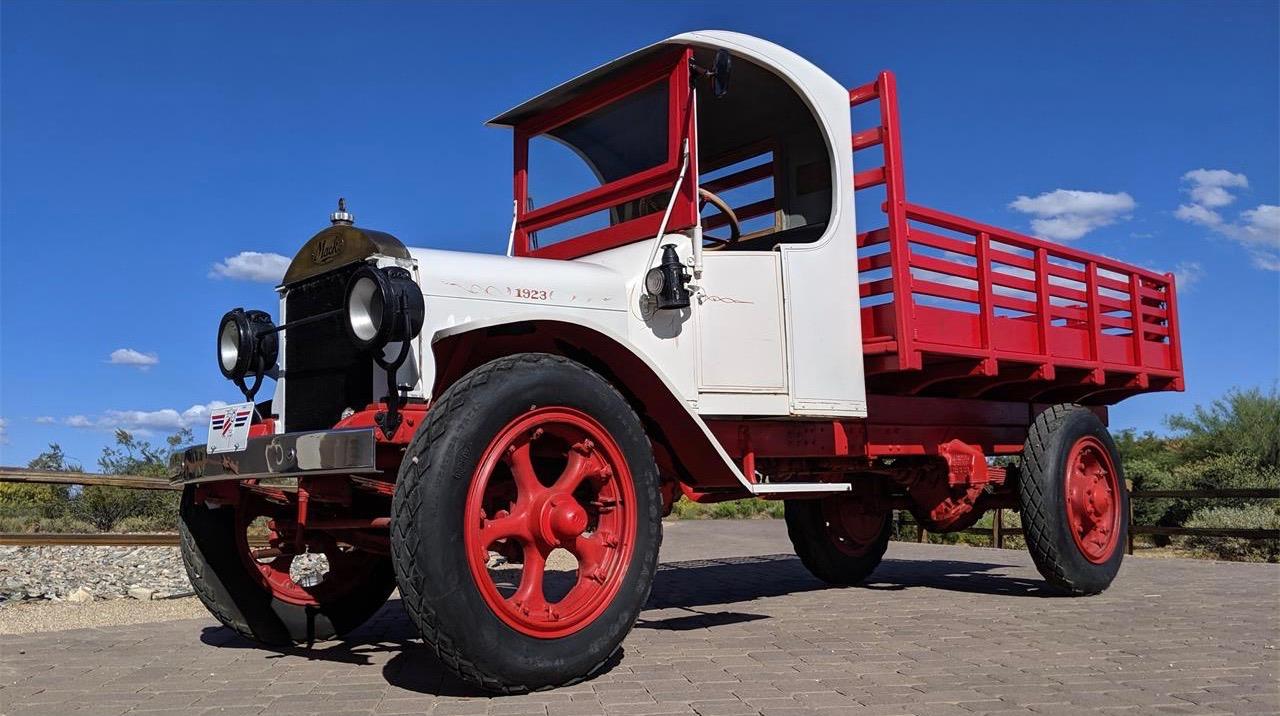 Mack brothers built trucks that were as tenacious as a bulldog