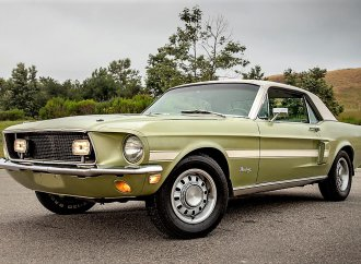 Briefly produced 1968 Mustang California Special coupe