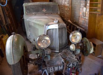 After 50 years in storage, 1936 Aston Martin going to auction