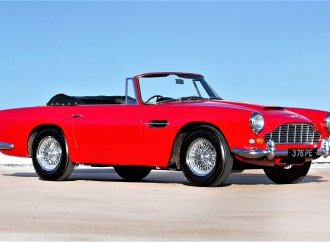 Aston Martins from 7 decades featured in Bonhams' auction
