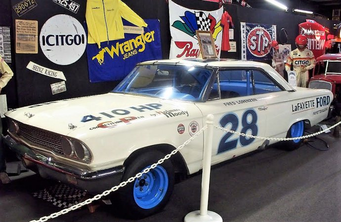 Historic NASCAR Ford was driven by legendary champion