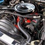 1973 Camaro LT Mecum engine