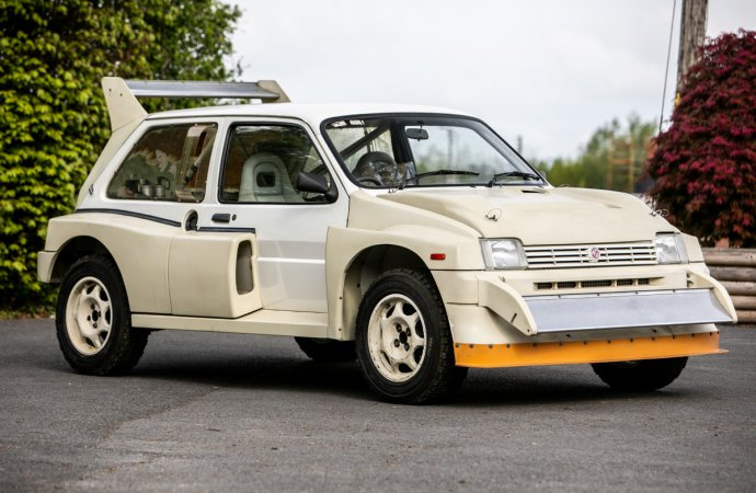 7-mile Group B rally car consigned to Silverstone Classic