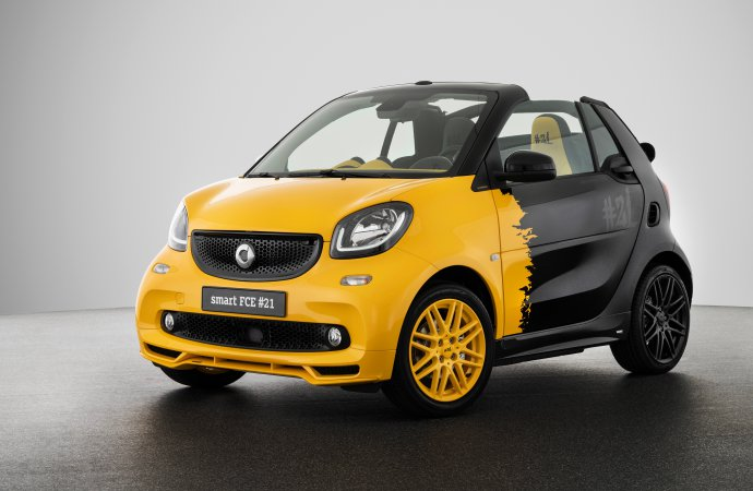 Smart ends internal combustion with 'collector's edition'