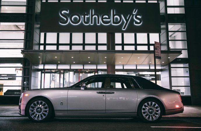 Rolls-Royce, RM Sotheby's set online sale for one-off Phantom