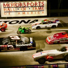 Motorsports Hall Of Fame showcases stars from all venues