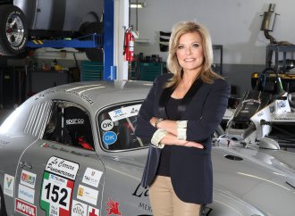 Renee Brinkerhoff and her 1956 Porsche 356A challenge the world, and child trafficking