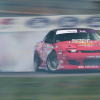 Rain and shine, drift driver Schulte knows he must adapt