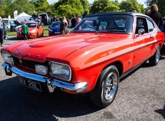 Anglia, Capri celebrate anniversaries at Simply Ford rally