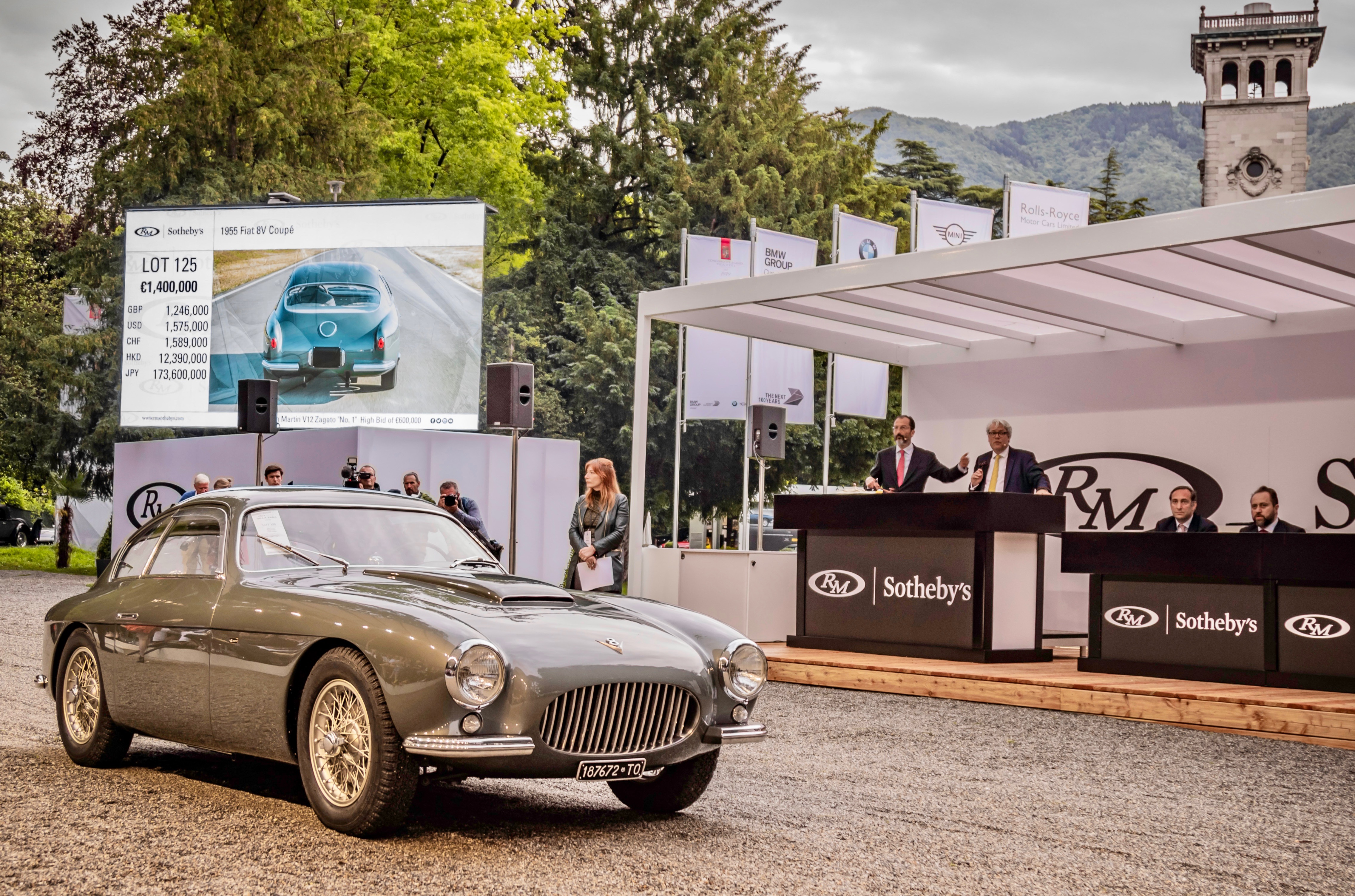 RM Sotheby's, RM Sotheby's auction on Lake Como posts modest sell-through rate, ClassicCars.com Journal