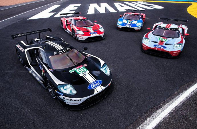 Ford sets celebration liveries for its Le Mans finale