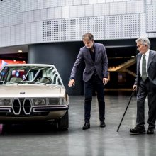 BMW unveils re-creation of Gandini's Garmisch concept car