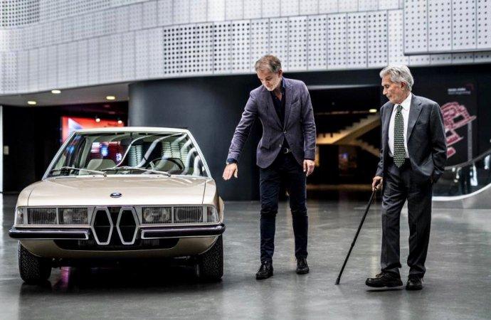 BMW unveils re-creation of Gandini's Garmisch concept car