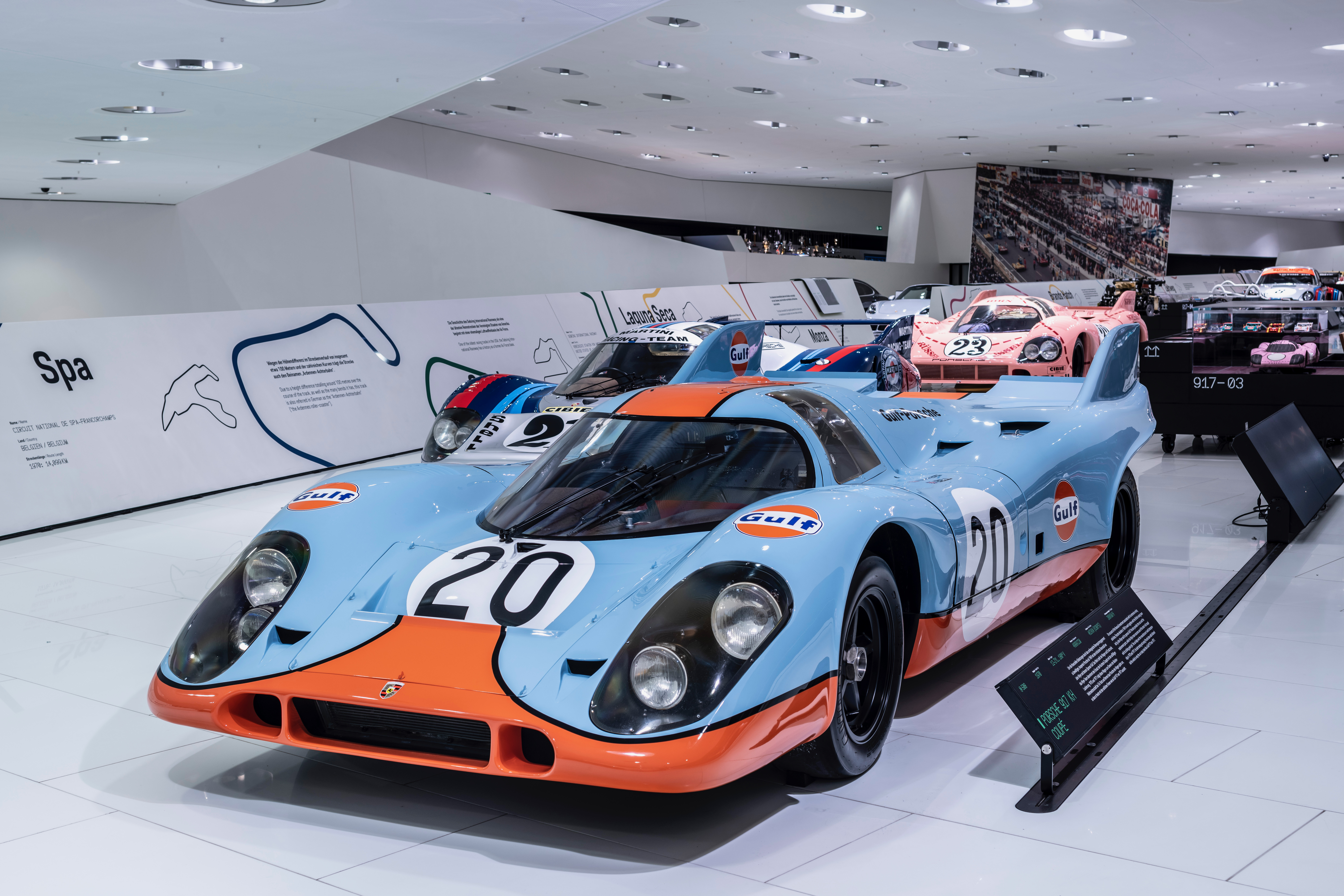 50 YEARS OF PORSCHE 917 The rebuilt 917-001 Langheck at