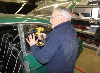 Pop-rivet nightmares: Restoration of Andy's MGB GT continues