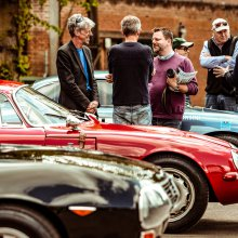 Inaugural Petrolicious Drivers' Meeting draws quite a crowd
