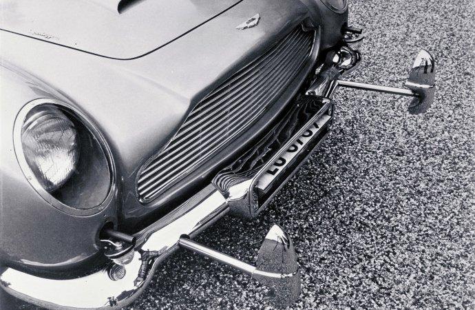 James Bond Aston DB5 replicas include on-board spy gear