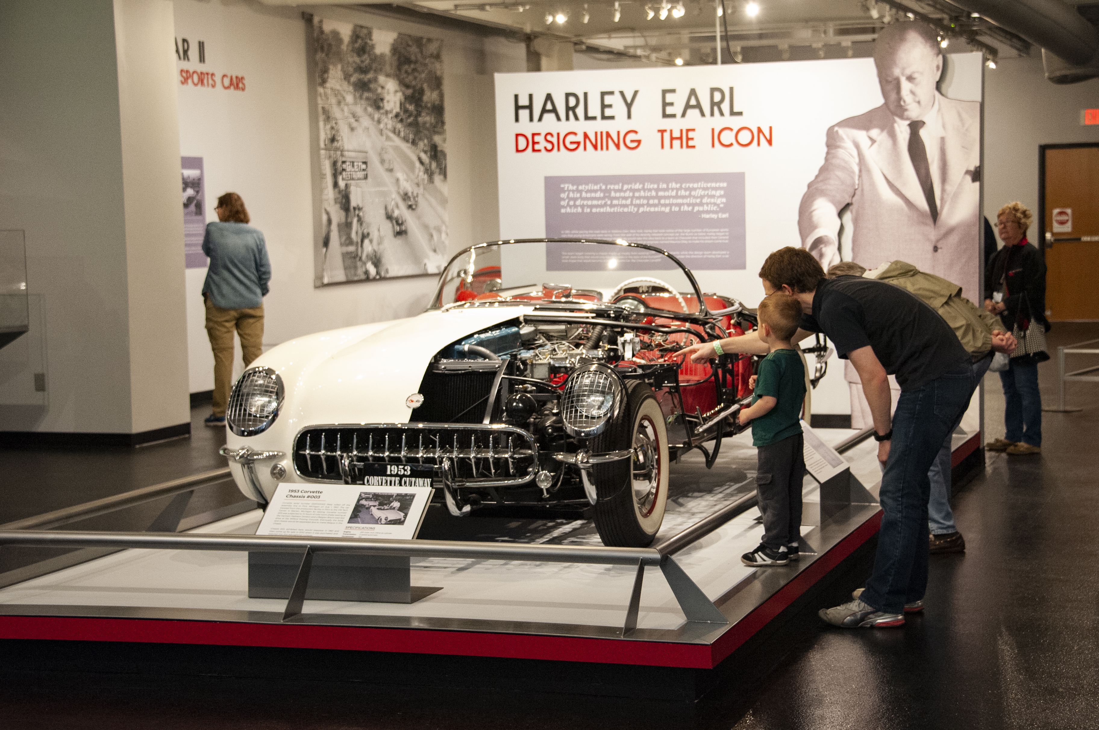 National Corvette Museum >> Still Under Camouflage Mid Engine C8 Visits National Corvette Museum