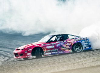 Skill and suspension setup keep drift drivers in control