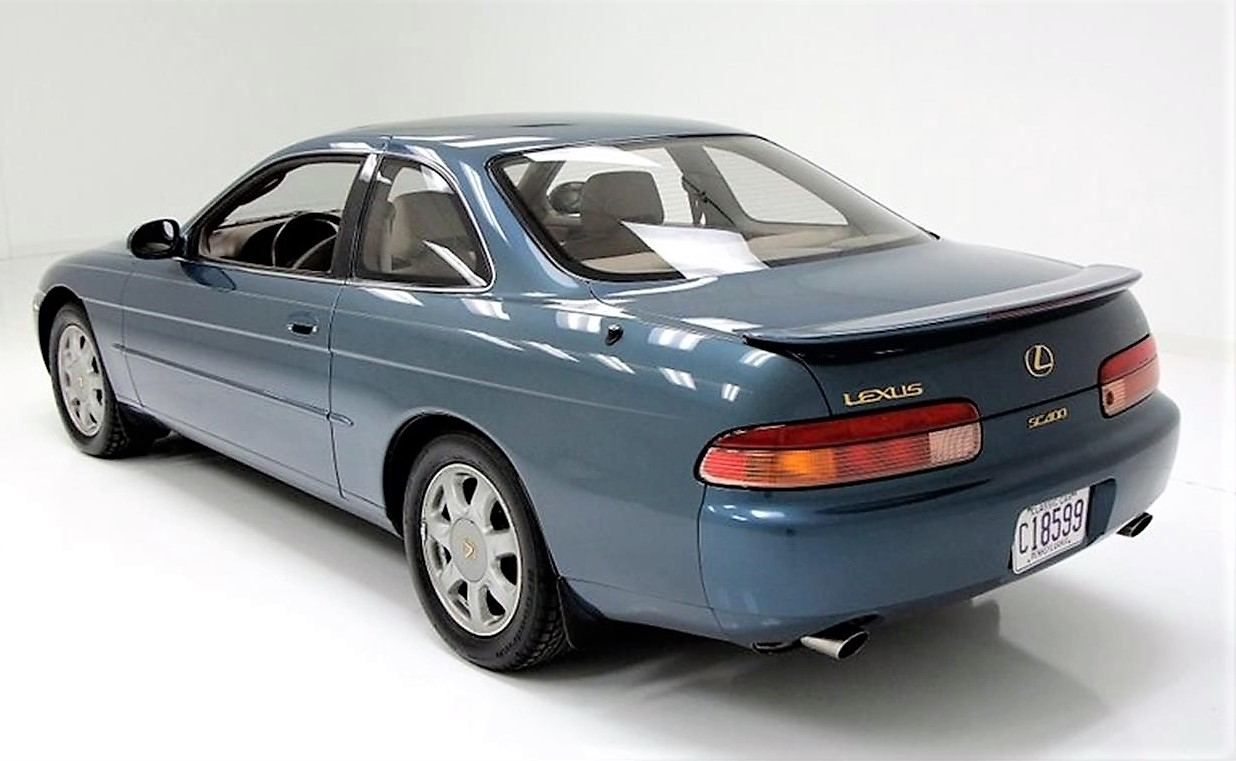 Off The Radar, 1995 Lexus SC400 Coupe Offers Sporty Luxury