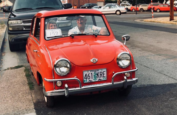 Goggomobil predated the era of go-go boots