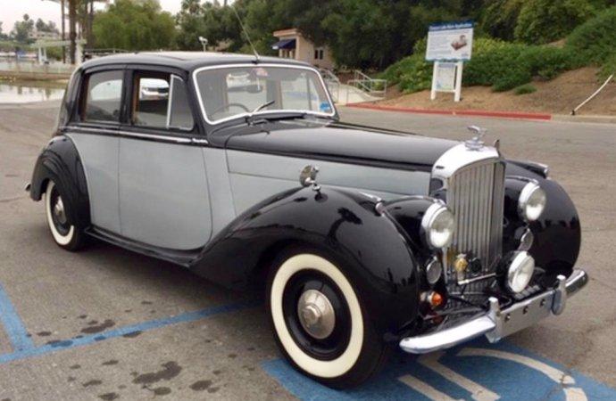 Classic Bentley, but from Huddersfield, not Crewe