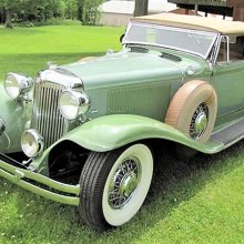 Rare, elegant 1931 Chrysler Imperial convertible coupe