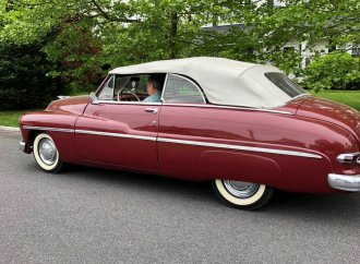 Late mother's 1949 Mercury convertible 'still turns heads'