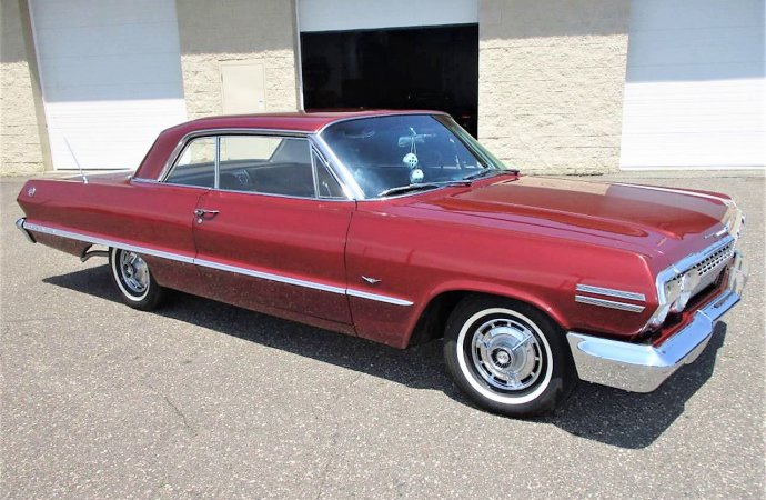 Nice original 1963 Chevy  Impala SS in clean, straight condition
