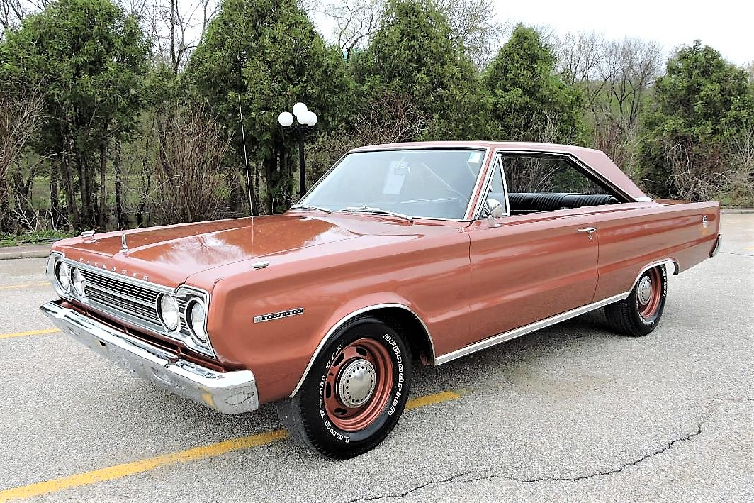 1967  67     PLYMOUTH BELVEDERE  OWNER/'S MANUAL