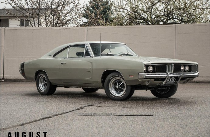 '69 Dodge Charger reigns as most-searched on ClassicCars.com in May