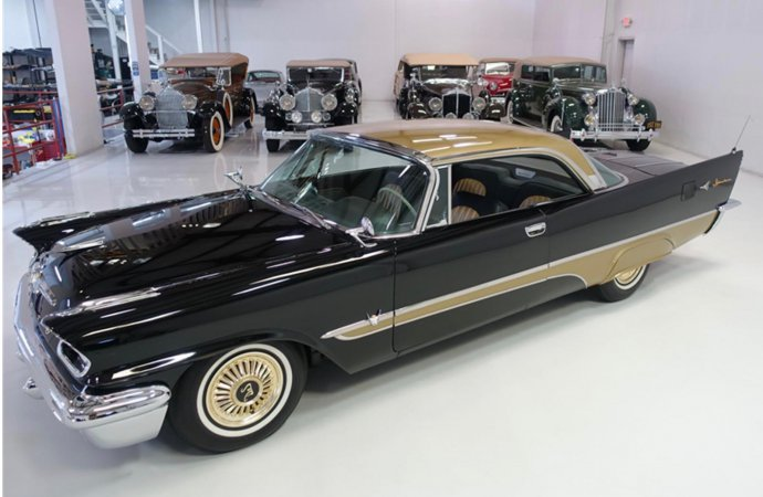 '57 DeSoto Adventure Sportsman coupe has drag-racing credibility