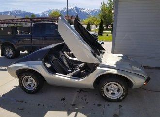 Meyers Manx SR2 has Targa-style roof, scissor doors