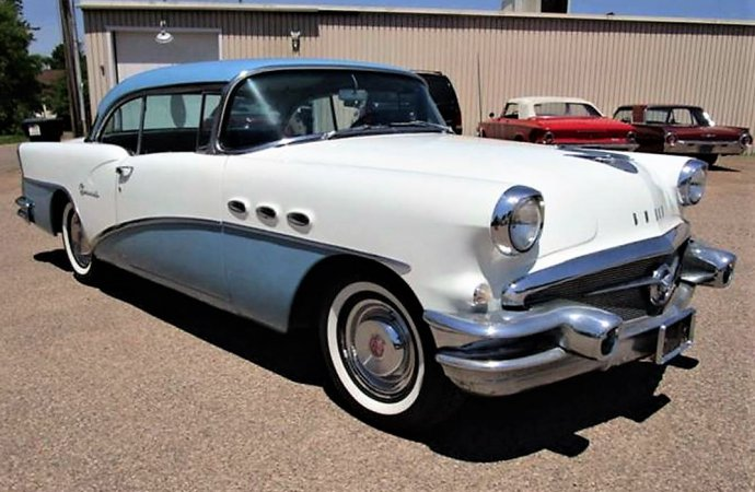 Handsome 1956 Buick hardtop offered at an affordable price