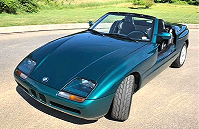 Unusual in style and history, 1991 BMW Z1 roadster