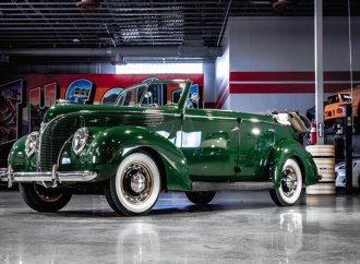 1938 Ford convertible has been in the family for 60 years