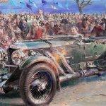 1931-Bentley-Continental-8-liter-painted-by-Alfredo-De-la-Maria-of-Argentina-Pebble-Beach