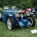 1934 mg na evans wilkinson special