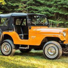How the military jeep evolved into the Jeep Wrangler of today