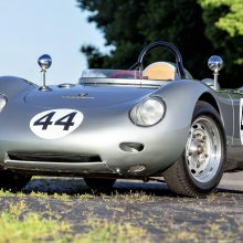 Bonhams to offer Porsche 718 RSK with 'center seat' at Quail auction