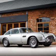 007 DB5 movie promo car heading to RM Sotheby's Monterey auction
