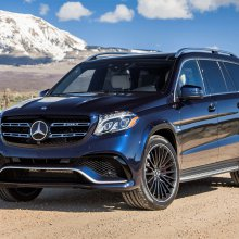 Hot-hauler Mercedes AMG GLS 63 is extra large and in charge