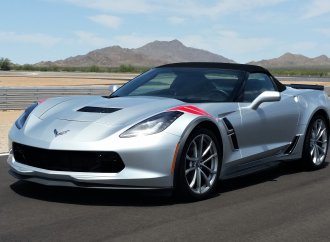 Final bow for the front-engine Chevrolet Corvette