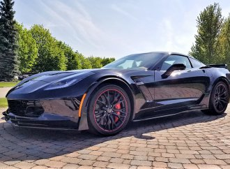 Last of the front-engine Corvettes to be sold by Barrett-Jackson